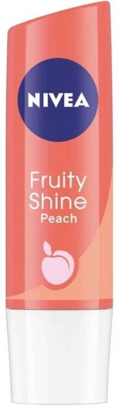 Nivea Fruity Shine Peach Fruity (4.8 g)