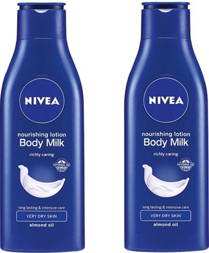 Nivea Nourishing Body Milk Pack of 2 (75 ml)