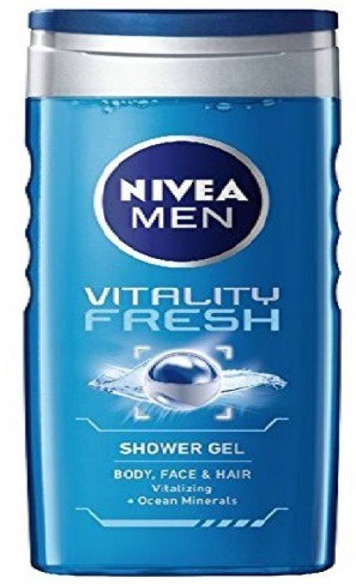 Nivea Vitality Fresh Shower Gel For Men 250 ml (250 ml)