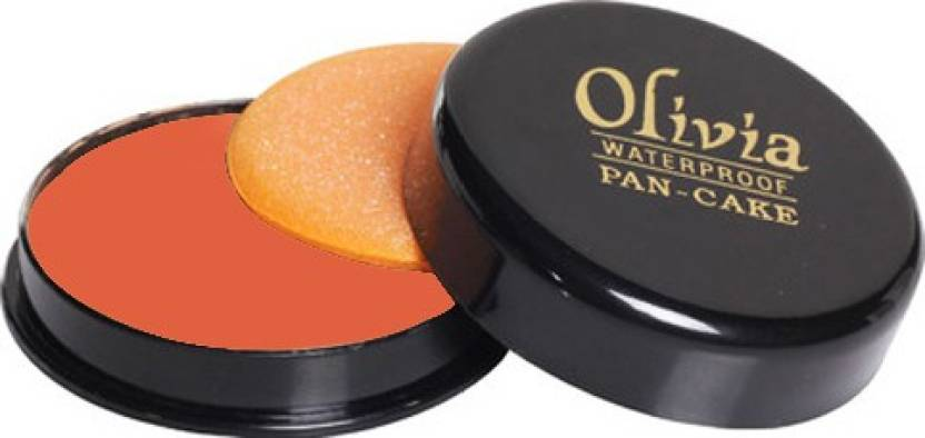 Olivia Waterproof Pan-cake Concealer (30 Tender Orange)
