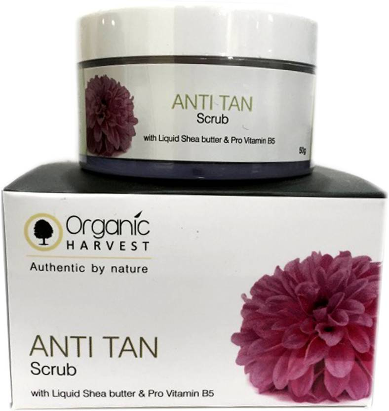 Organic Harvest Anti Tan  Scrub (50 g)
