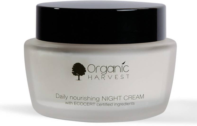 Organic Harvest Daily nourishing Night Cream (with Ecocert certified ingredients) (50 g)