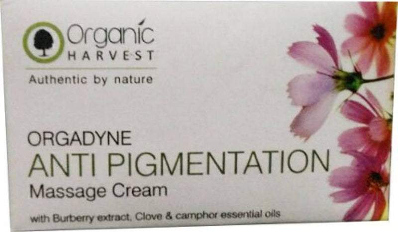 Organic Harvest Orgadyne Anti Pigmentation Massage Cream (50 g)