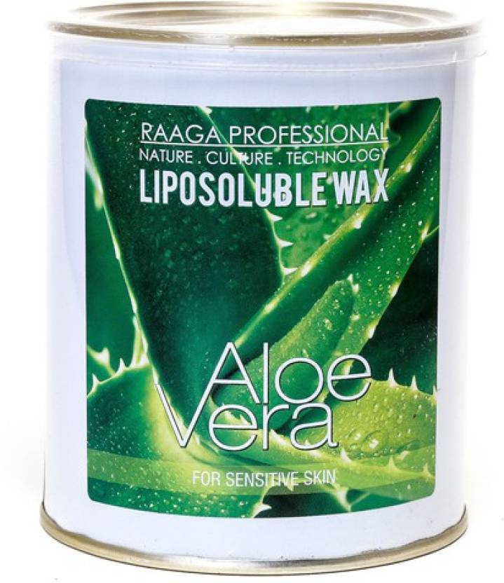 Raaga Professional Liposoluble Wax Green Apple Cream (800 ml)