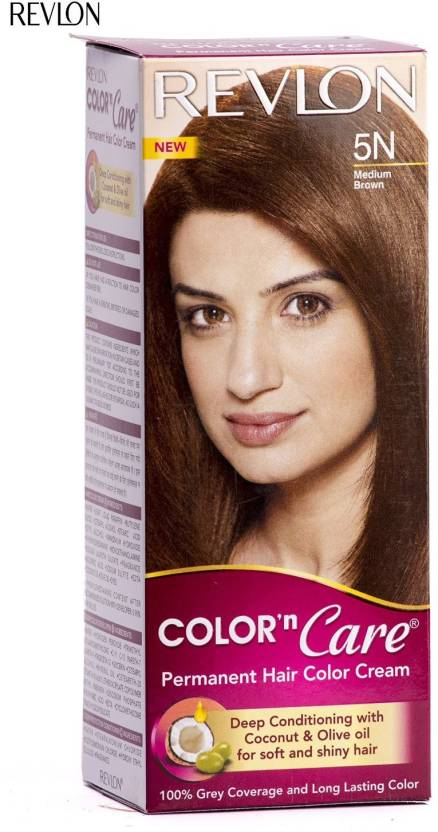 Revlon Color n Care Hair Color (Medium Brown)