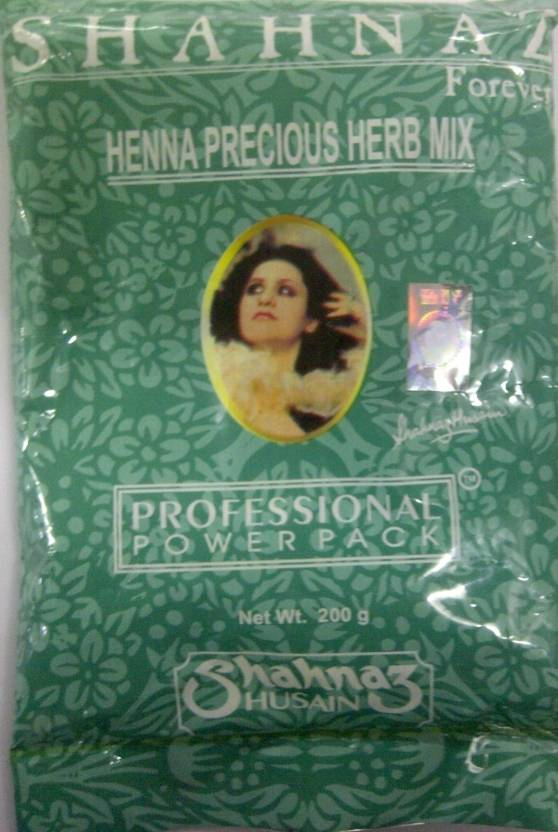 Shahnaz Husain Forever Henna Precious Herb Mix Professional Power Pack (200 g)