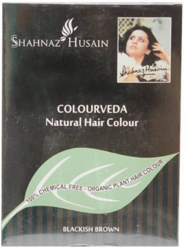 Shahnaz Husain Colourveda Natural Hair Color (Blackish Brown)