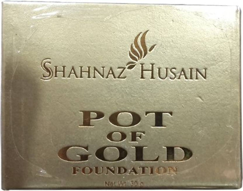 Shahnaz Husain Pot of Gold  Foundation (gold, 30 g)