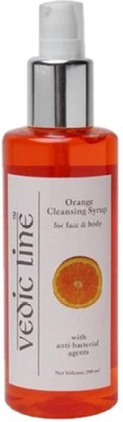 Vedic Line Orange Cleansing Syrup for Face and Body (200 ml)
