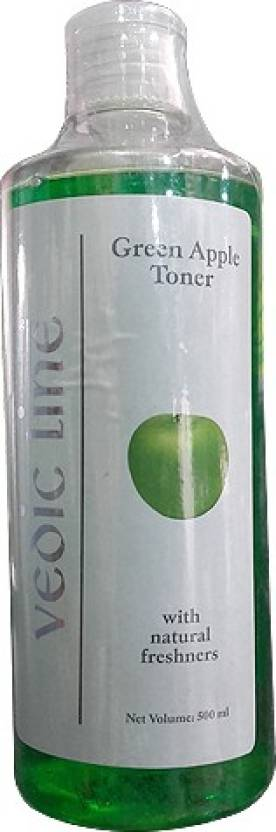 Vedic Line Green Apple Toner (500 ml)