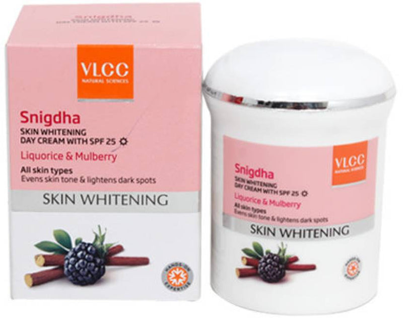 VLCC Snigdha Skin Whitening Day Cream with SPF 25 (50 g)