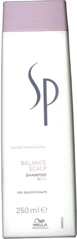 Wella Professionals System Professional Balance Scalp Shampoo for Delicate Scalp (250 ml)