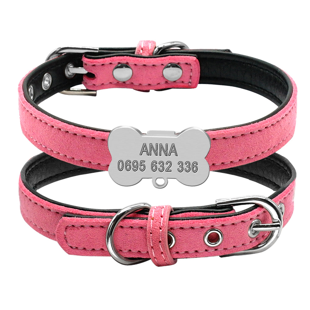 Personalised Engraved Collar for tiny tots