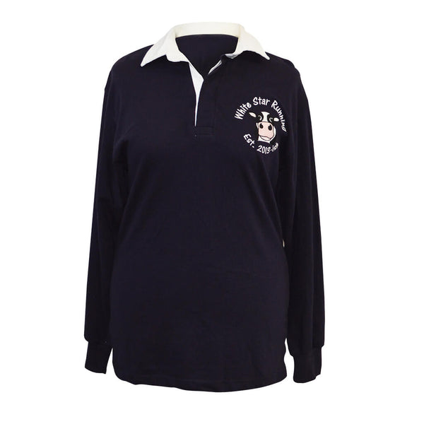 Cow Men's Rugby Top Navy