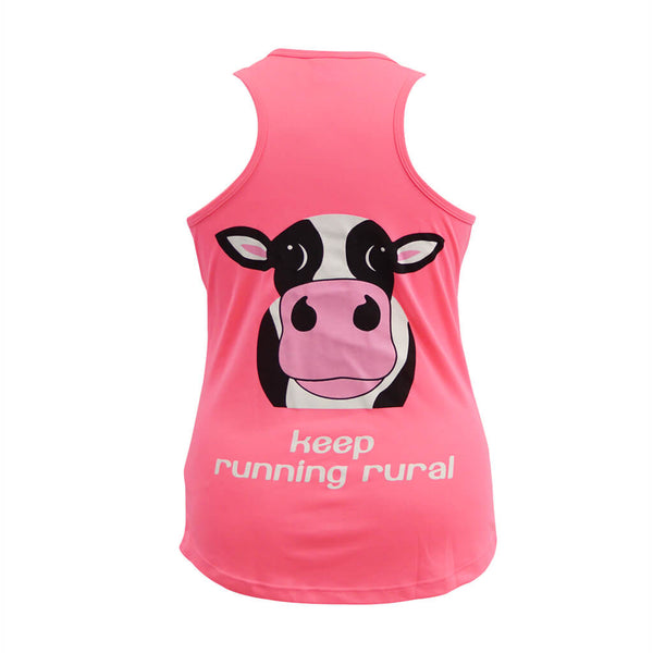 Cow Ladies Technical Vest Electric Pink