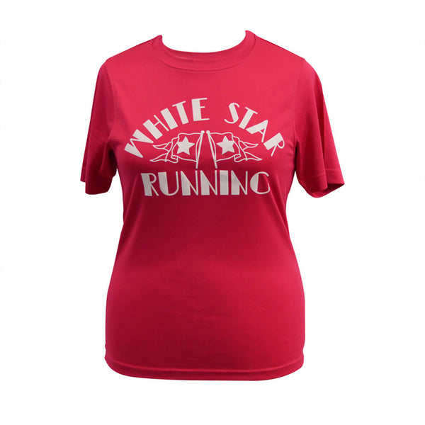 Nutty Races Technical T-shirt Hot Pink