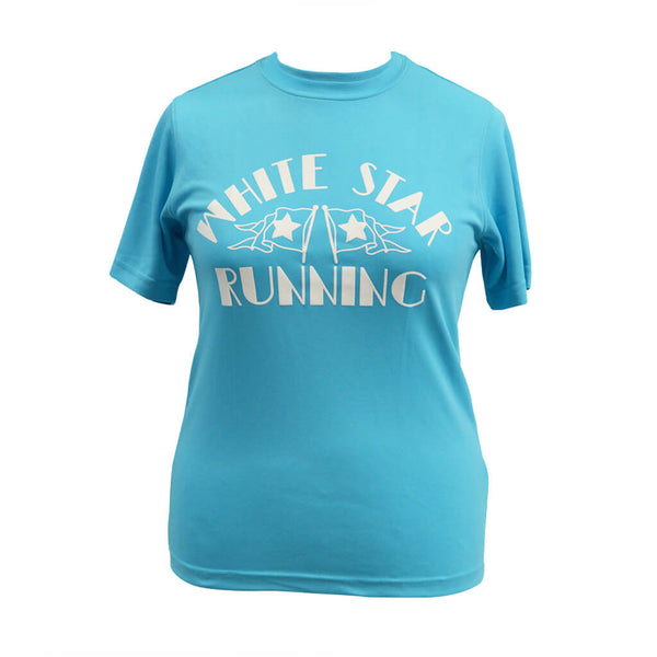 Nutty Races Technical T-shirt Hawaiian Blue
