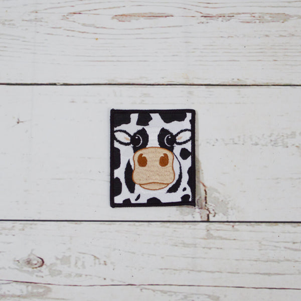 Cow Cloth Badge