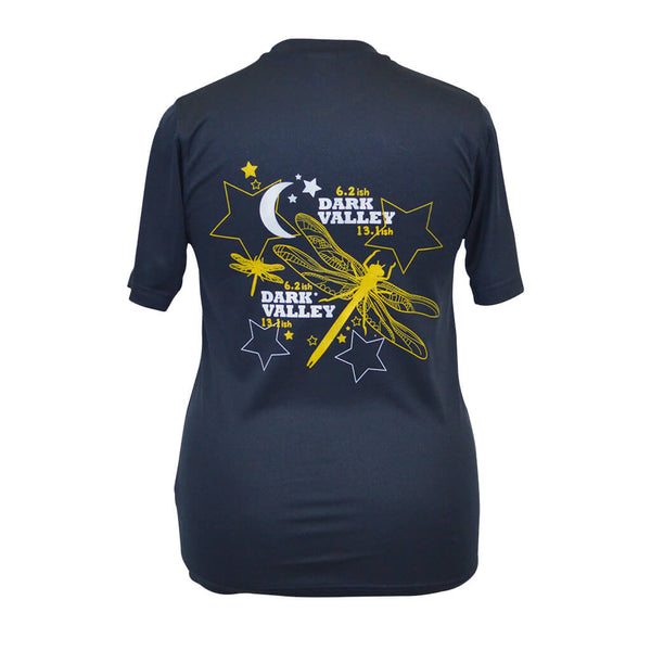 Dark Valley Technical T-shirt Navy