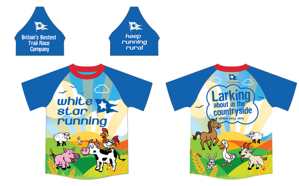 'Larking About In The Countryside' Sublimated T-Shirt