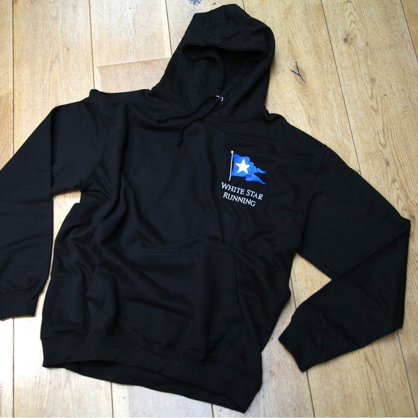 Larmer Over The Head Hoody Black Peacock