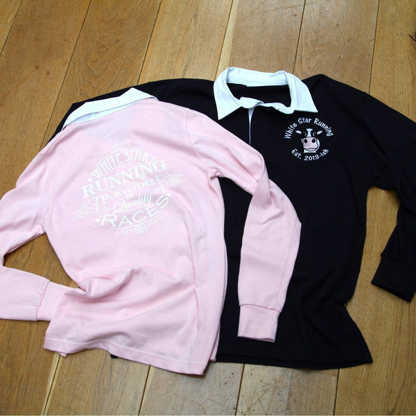 Purveyors Women's Rugby Top Light Pink