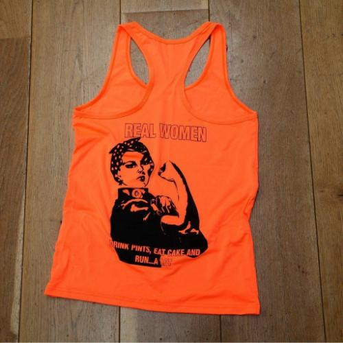 Real Women Softex Vest Tangerine
