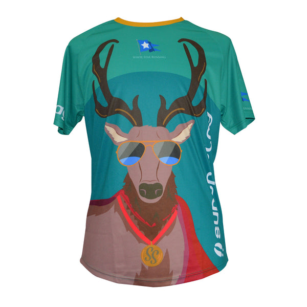 Cool Stag Woodland Animals 'Lockdown Frolic' Sublimated Tops