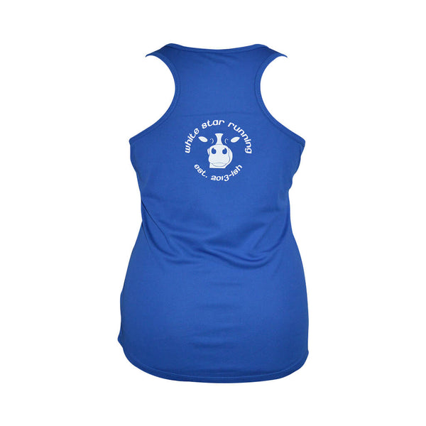 Cow Women's Technical Vest Royal Blue