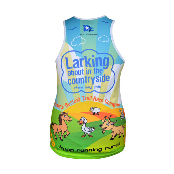 Larking About Sublimation Vest Mens