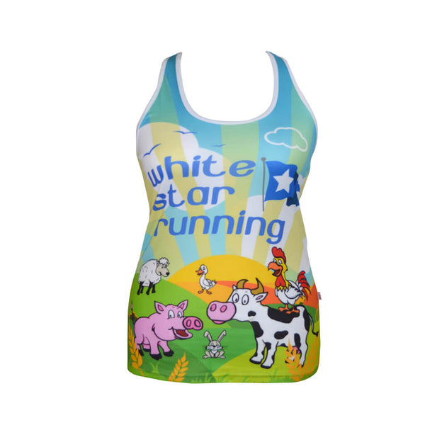 Larking About Sublimation Vest Ladies
