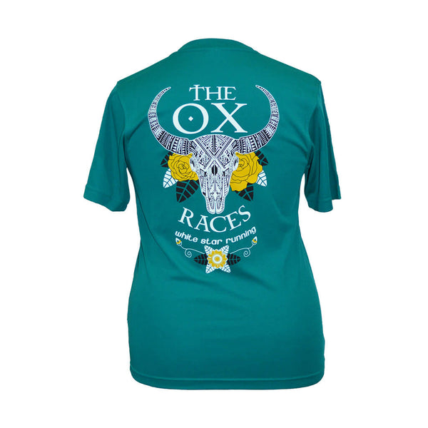Ox Races 2019 Technical T-shirt Jade