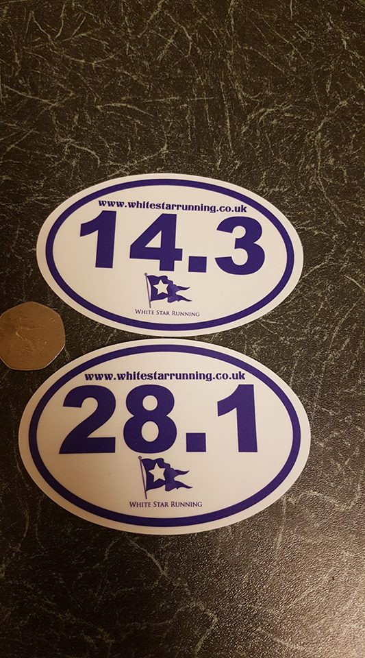 WSR 28.1 Car Sticker