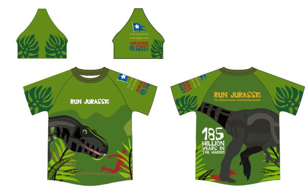 Kids Jurassic Sublimation T-shirt