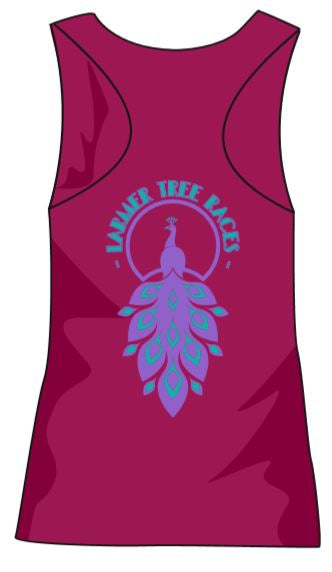 Larmer Ladies Vest Hot Pink