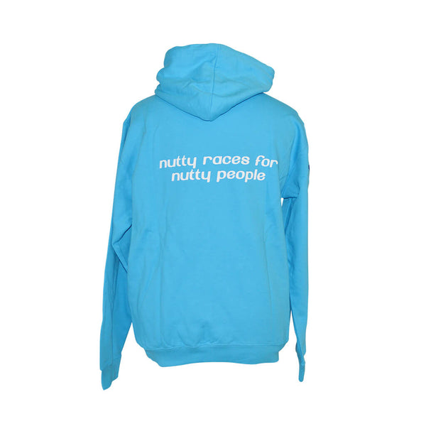 Nutty Races Over Head Hoody Hawaiian Blue & Embroidered Flag