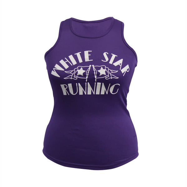 Nutty Races Women's Technical Vest Purple