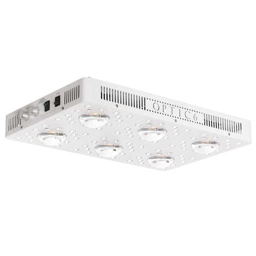 Optic 6 Gen4 Dimmable COB LED Grow Light 605w (UV/IR) 3000k & 5000k COBs (v2)