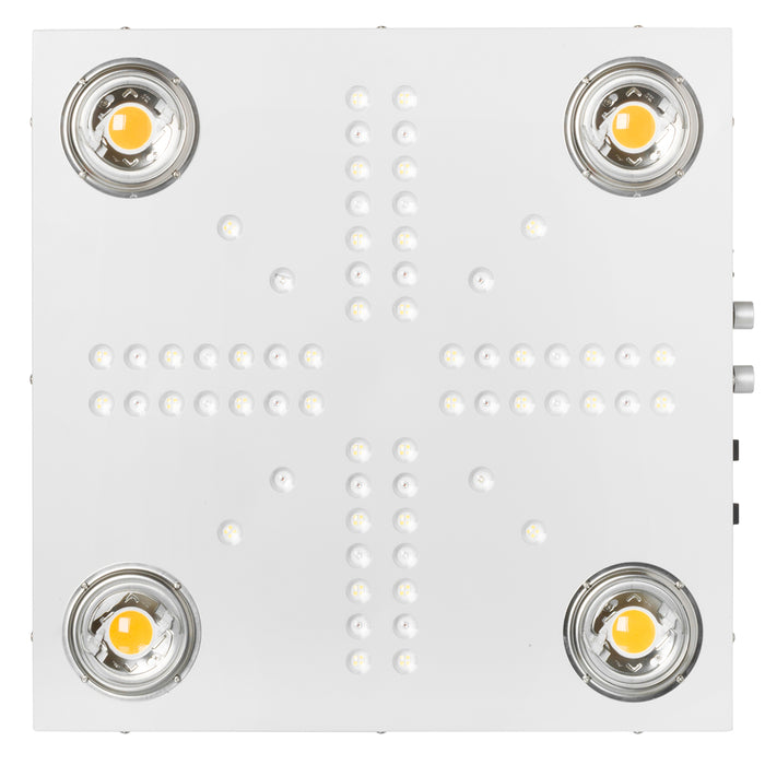 Optic 4XL NextGen 450W Dimmable COB LED Grow Light (UV/IR) 3500k COBs 120 Degree Lenses