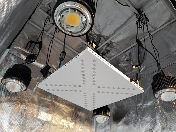 X4 COB Array 336w (UV/IR) 3500k COBs