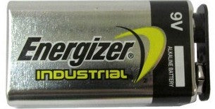 "Energizer Batteries EN22 9V Industrial Alkaline Battery (with Cap Protectors) - Malaysia ""2022"" Date - 72 Piece Carton"