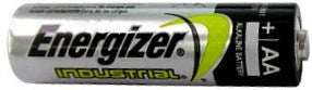 "Energizer Batteries EN91 AA Size Industrial Alkaline Battery, Boxed. Made in Singapore ""12-2026""<br>144 Piece Brick"