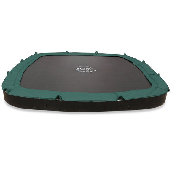 Plum® 11ft Square In-Ground Trampoline