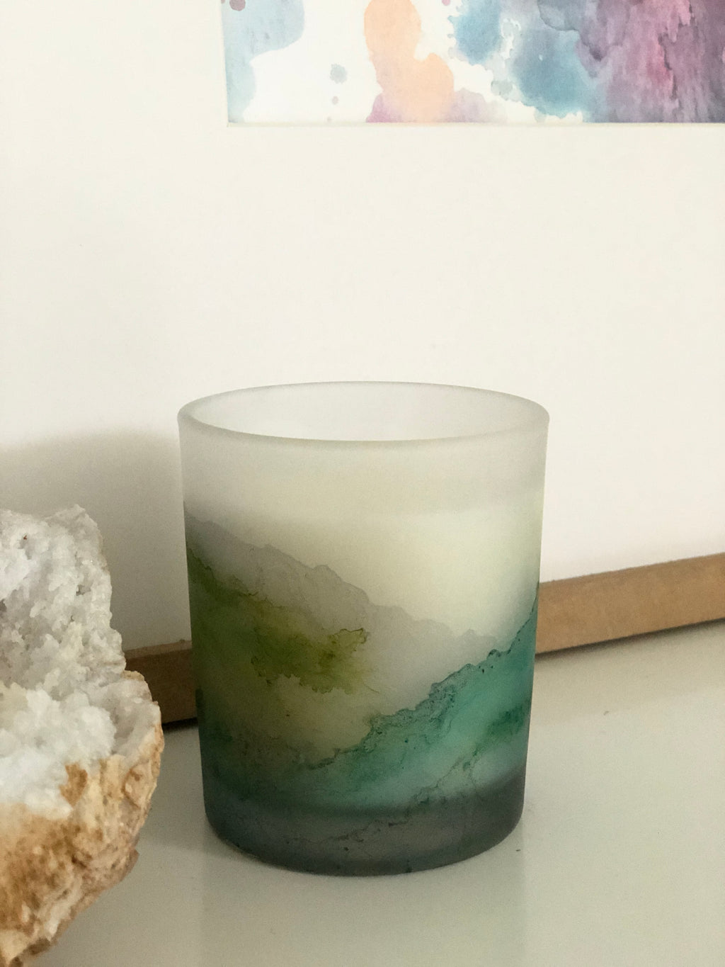 Premium Candle | Coconut + Soy Blend | Fresh Start