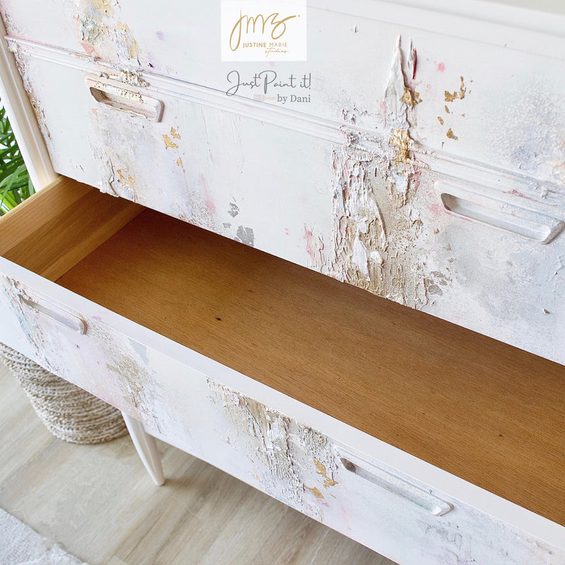 'Make it Sweet' 5 Drawer Upright Dresser/Chest | Justine Marie Studios + Just Paint It! by Dani Collaboration