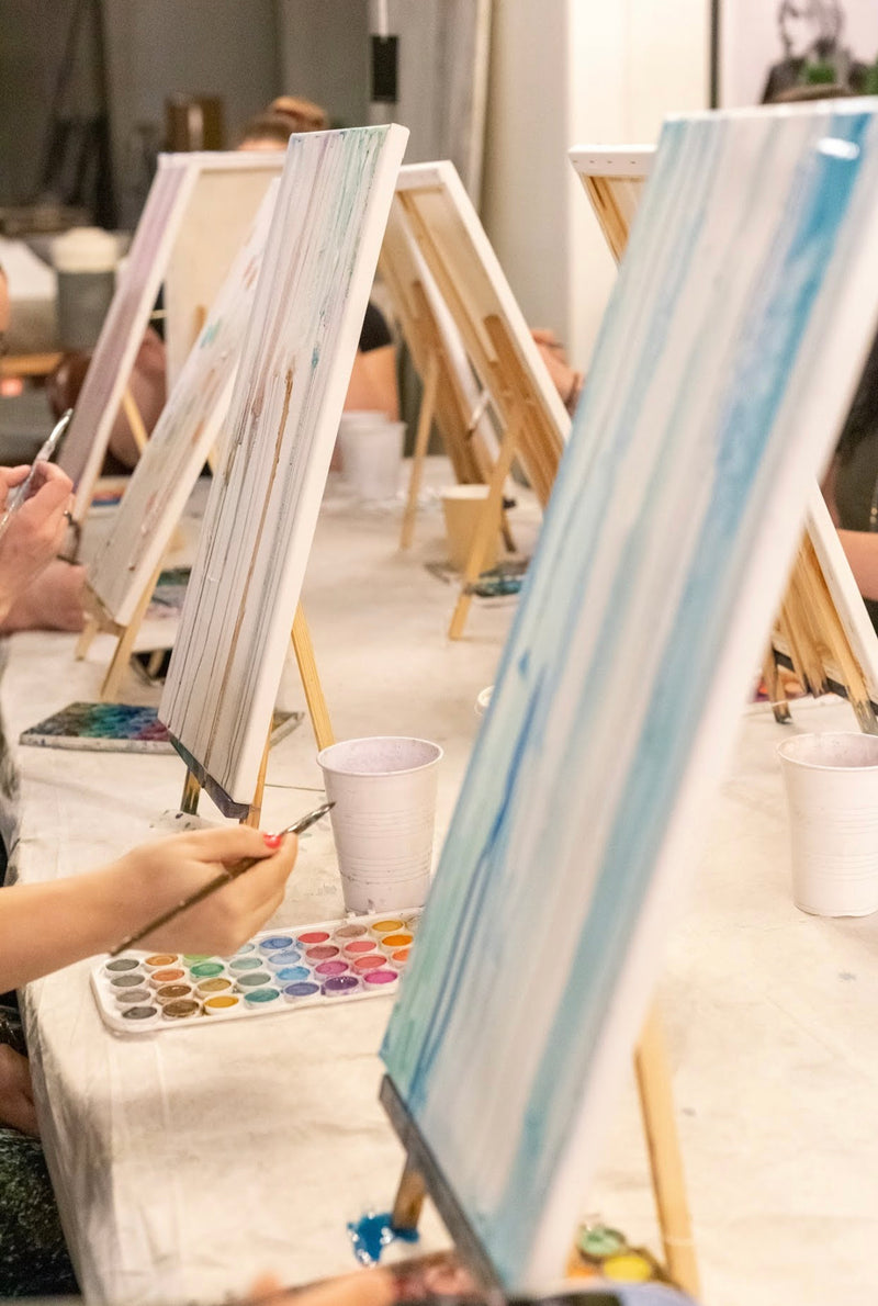Paint with JMS | Watercolour on Canvas Art Workshop - SASKATOON