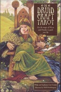 The Druidcraft Tarot - Philip and Stephanie Carr-Gomm (ill. Will Worthington)