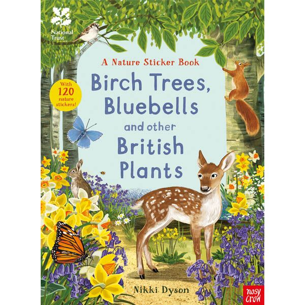 National Trust: Birch Trees, Bluebells and Other British Plants