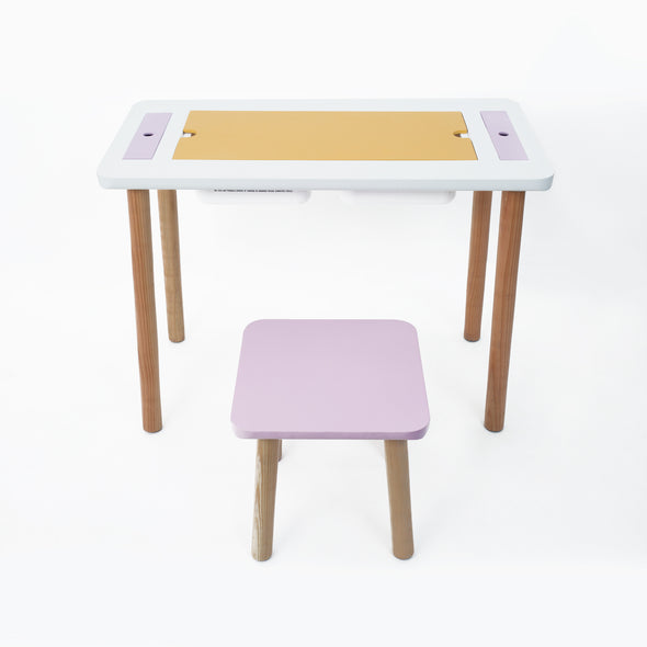 Kids' Activity Table with Tool