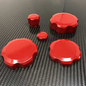16'-18' Camaro Underhood Billet Cap Cover Set